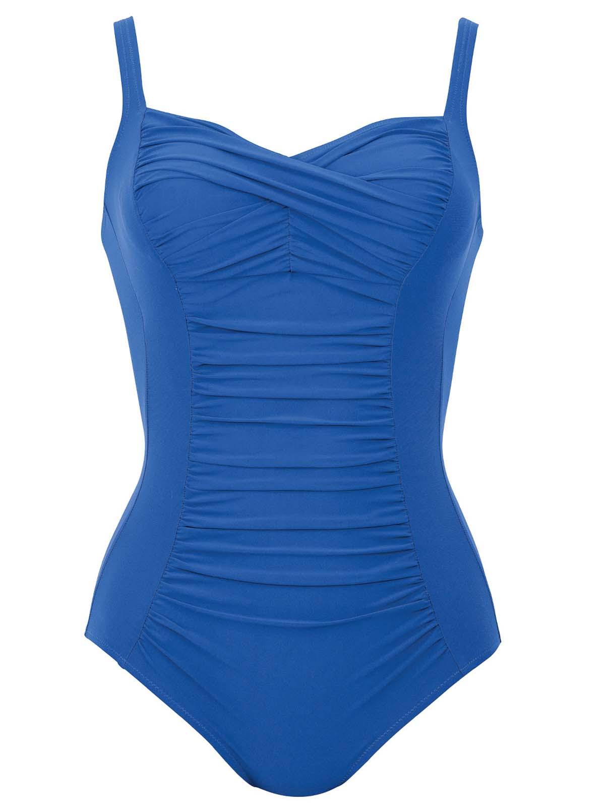 anita shaper badeanzug mit soft schale 7370 gr 38 52 b e in french blue ebay. Black Bedroom Furniture Sets. Home Design Ideas
