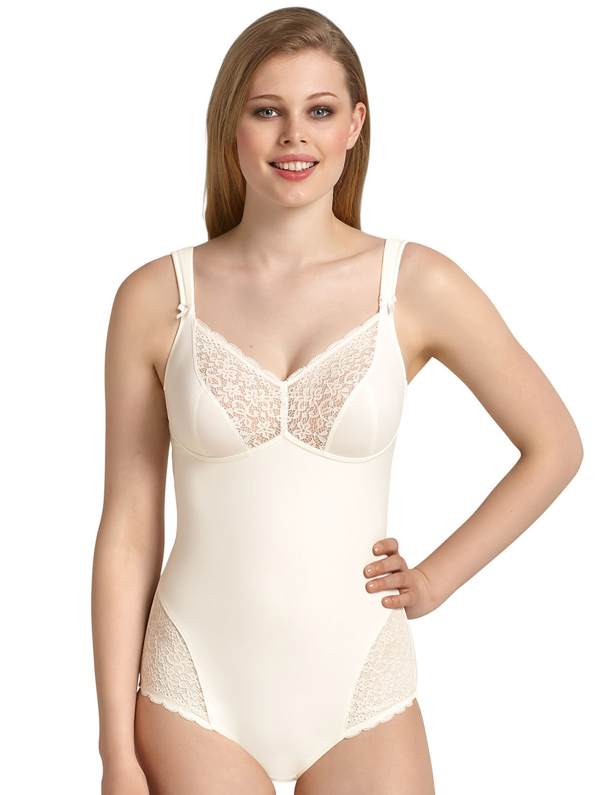 bc5e38a802aef Details about Havanna Wire Free Comfort Corselette Crystal 3512 by Anita  Comfort