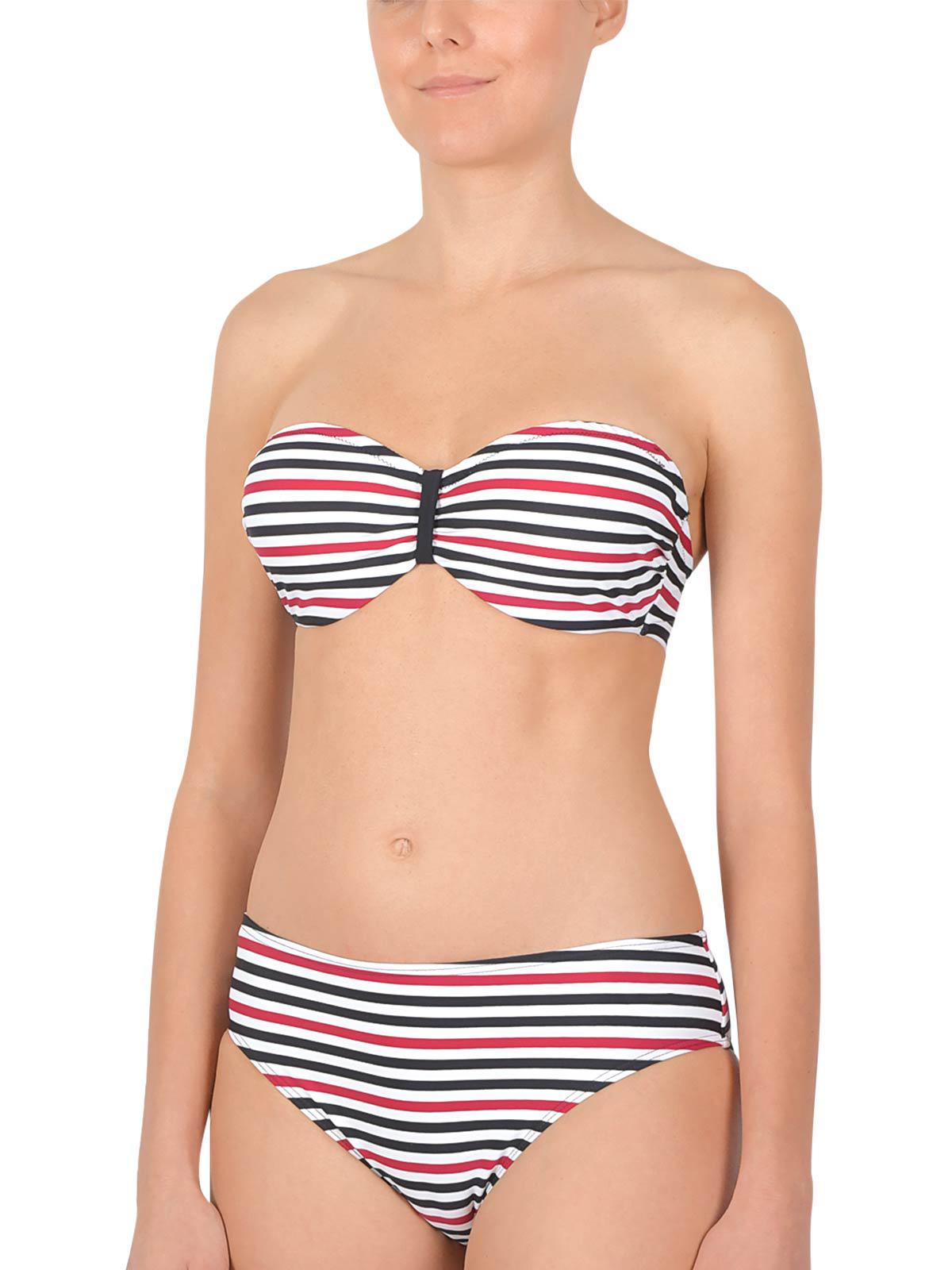 NATURANA Bandeau Bikini mit Bügel 72528 Gr. 36-44 B-D