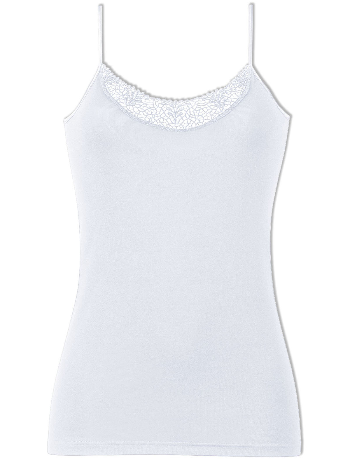 NATURANA Women's Vest with Etched Embroidery 2603
