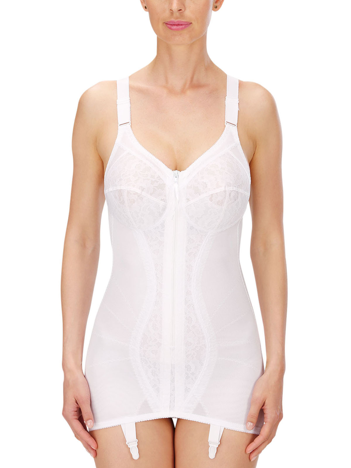 Naturana Open Bottom Corselette 3011