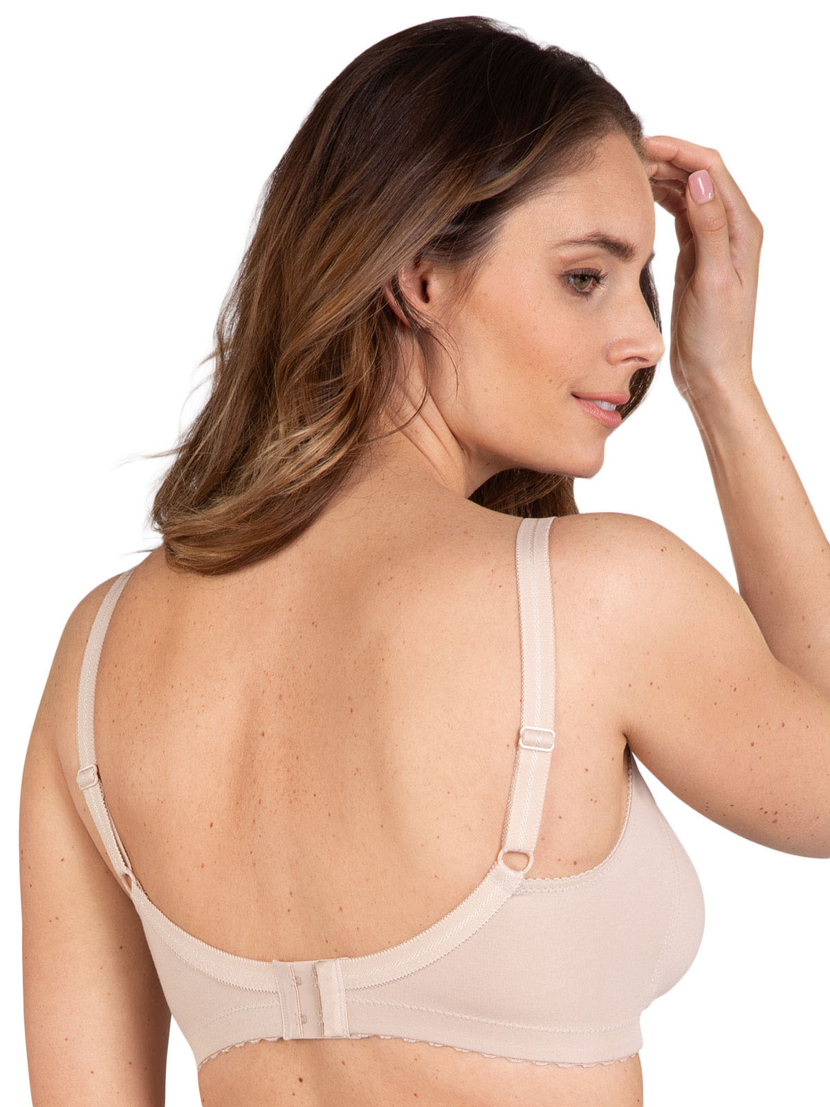 Double moulded soft bra, Cotton Minimiser 5307