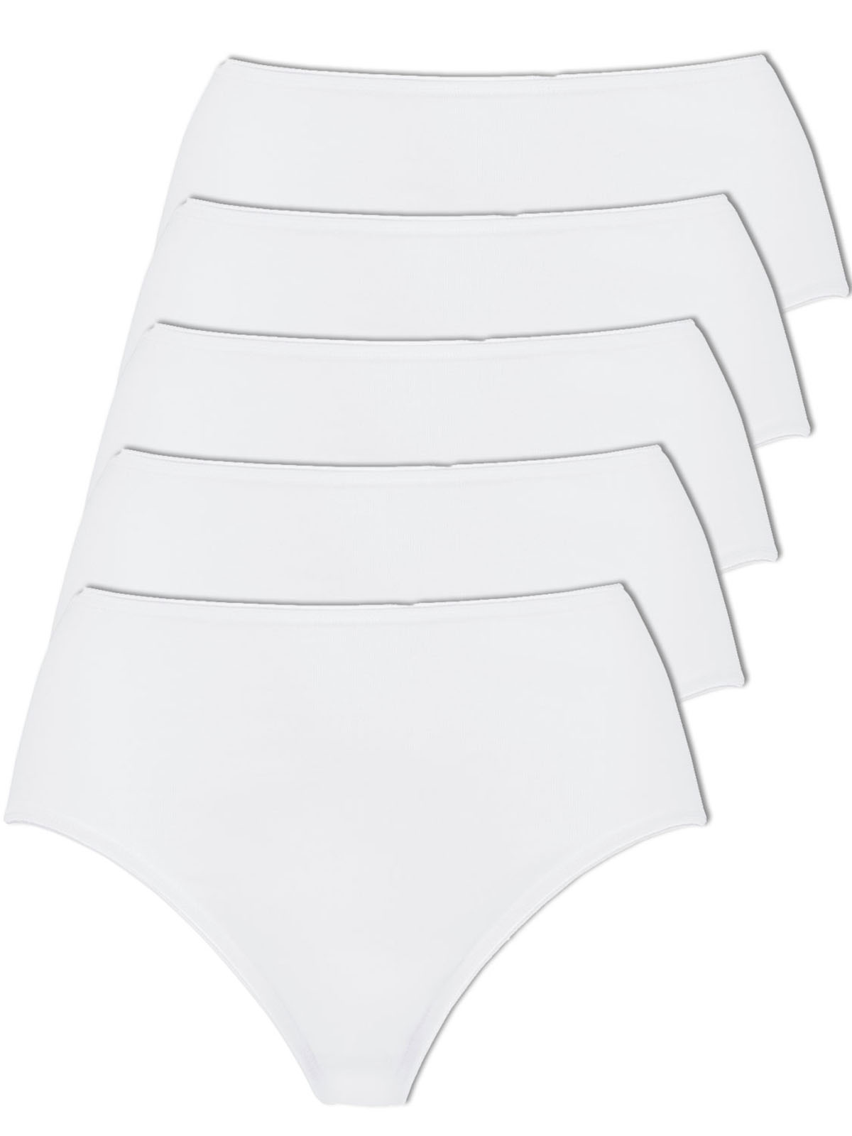 Naturana Pack of 5 Women's Briefs 802103