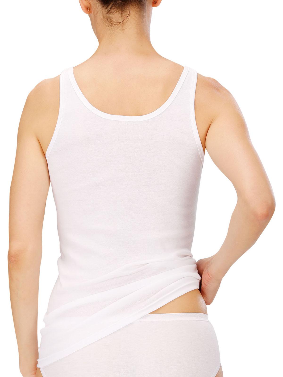 NATURANA 2er Pack Damen Unterhemd 802530, 38-52