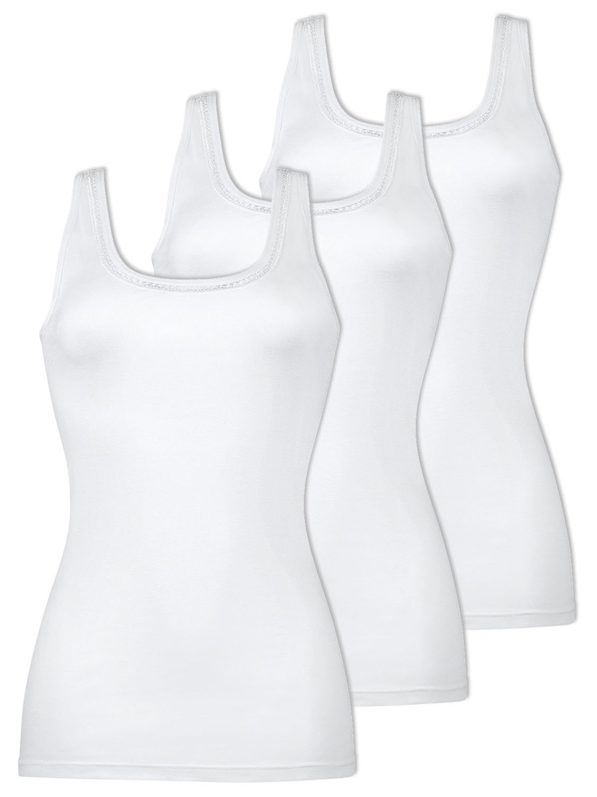 Naturana Pack of 3 Women's Undervest 2535