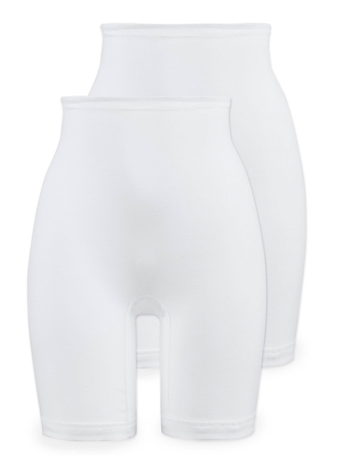 4er Pack Damen Pagenschlüpfer Panty aus Baumwolle 2201 Naturana Gr 40-54 Weiss