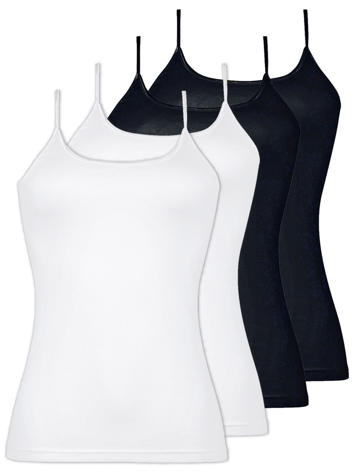 Naturana Pack of 2 Womens Cotton Camisole 2507
