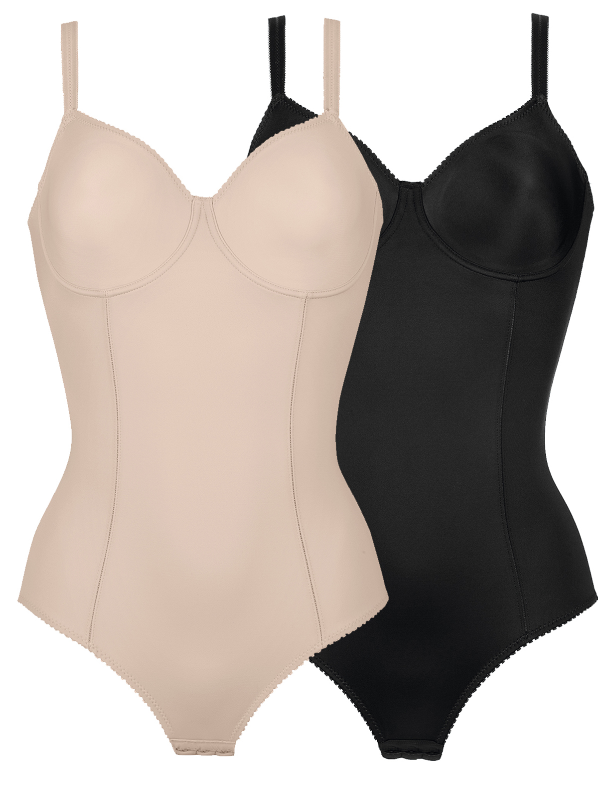 07777ae366554 2 Pack Underwire Bodysuit 3260 by Naturana