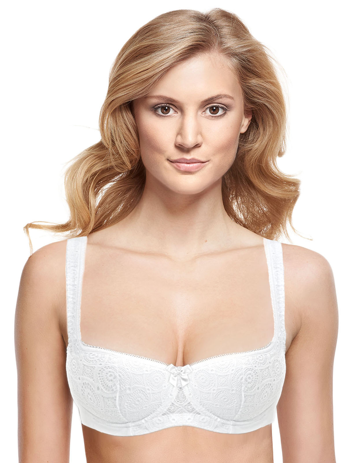 Dominique 8103 Low plunge underwired foam lined Strapless Bra Bridal Lingerie