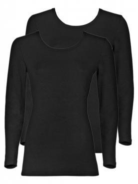 2er Sparpack Angora-Damen-Unterhemd 8010830