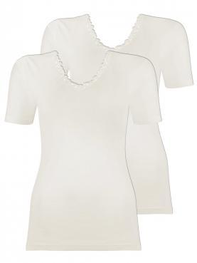 2er Sparpack Angora Damen-Unterhemd 8050920