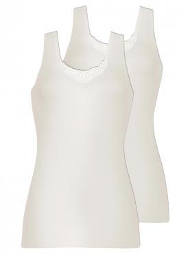 2er Sparpack Angora-Damen-Trägerhemd 8010800