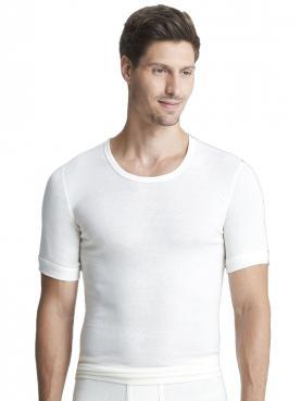 Angora Herren-Unterhemd 1/2 Arm 8010070