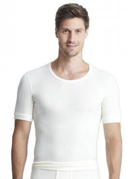 Angora Herren-Unterhemd 1/2 Arm 8050090