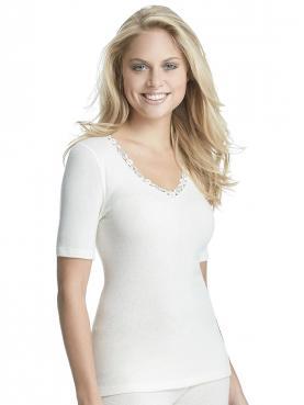 Angora Damen-Unterhemd 1/4 Arm 8050920
