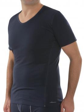 Herren V Shirt 1/4 Arm,