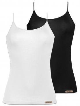 2er Sparpack Damen Trägershirt