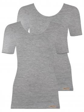 2er Sparpack Damen Shirt 1/4 Arm