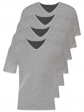 4er Sparpack Herren V Shirt 2308793