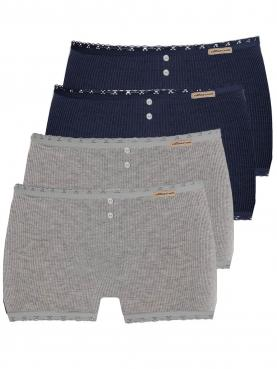4er Sparpack Damen Hot Pants 1432788