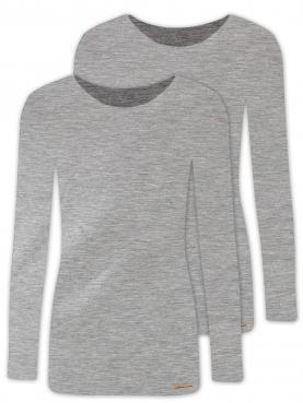 2er Sparpack Damen Shirt 1/1 Arm