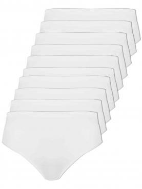 10er Sparpack Damen Taillenslip
