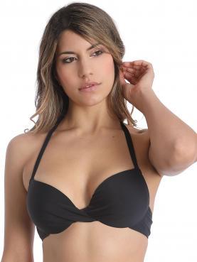 Bikini-Top mit Schale BASIC BLACK 70000