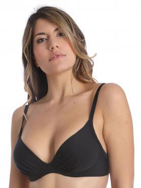 Bikini-Top mit Schale BASIC BLACK 70001