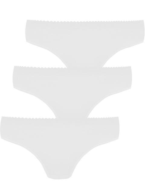 Pompadour Damen HUEFTSLIP 3er Pack, 7740-020, 48, Weiss Weiss | 48
