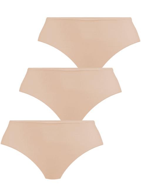 Pompadour Damen HUEFTSLIP 3er Pack, 7752-020, 36, Skin Skin | 36