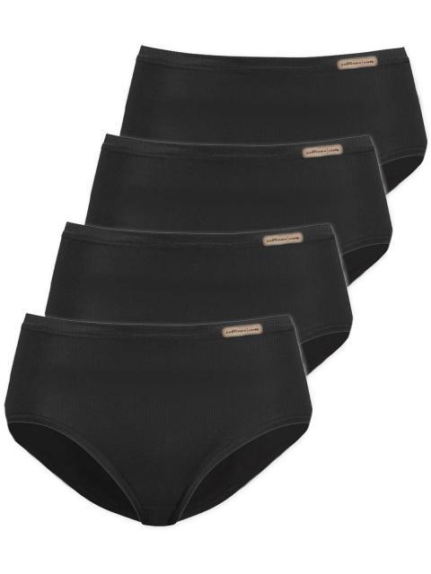comazo earth 4er Sparpack Damen Jazz Pants 1652791, Gr.40, schwarz schwarz | 40