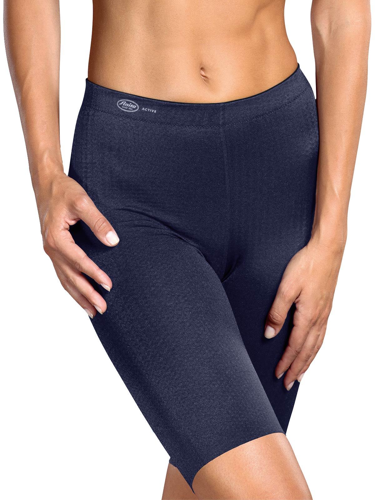 ANITA sport tights massage Gr. 46 in blue iris